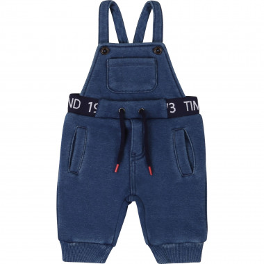 Two-sided fleece dungarees TIMBERLAND for BOY