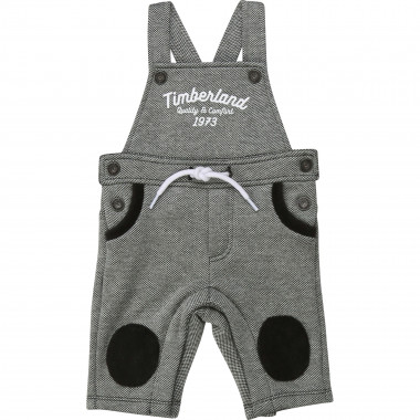 Two-sided fabric dungarees TIMBERLAND for BOY