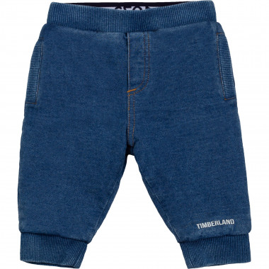 Jogger-style knit jeans TIMBERLAND for BOY