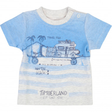 Organic cotton jersey T-shirt TIMBERLAND for BOY