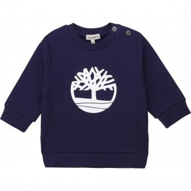 Fleece sweatshirt with logo TIMBERLAND for BOY