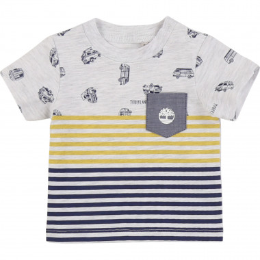 Patterned cotton T-shirt TIMBERLAND for BOY