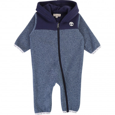 Hooded fleece jumpsuit TIMBERLAND for BOY