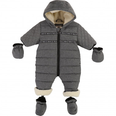 Hooded waterproof snowsuit TIMBERLAND for BOY