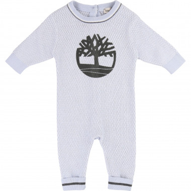 Cotton knit jumpsuit TIMBERLAND for BOY