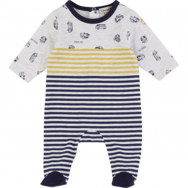 Printed cotton jersey pyjamas TIMBERLAND for BOY
