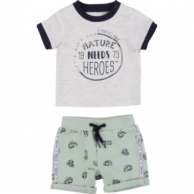 T-shirt and shorts set TIMBERLAND for BOY