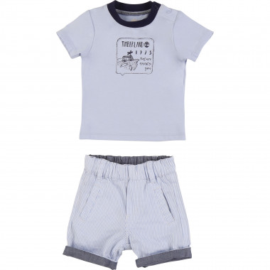 Reversible two-piece set TIMBERLAND for BOY