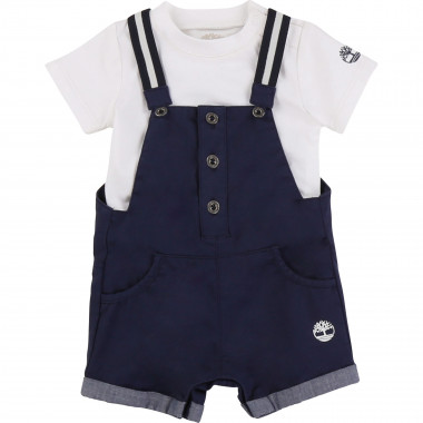 Dungarees and T-shirt set TIMBERLAND for BOY