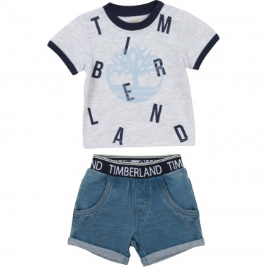T-shirt and short set TIMBERLAND for BOY