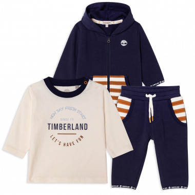 3-piece organic-cotton outfit TIMBERLAND for BOY