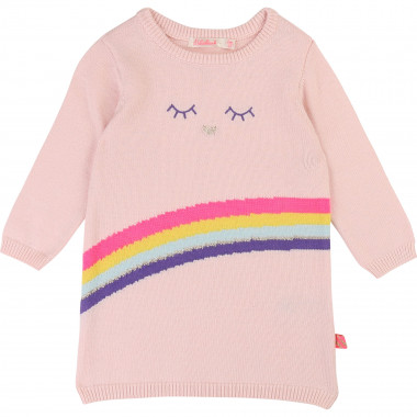 Tricot dress with motif BILLIEBLUSH for GIRL
