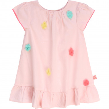 Flared frilled cotton dress BILLIEBLUSH for GIRL