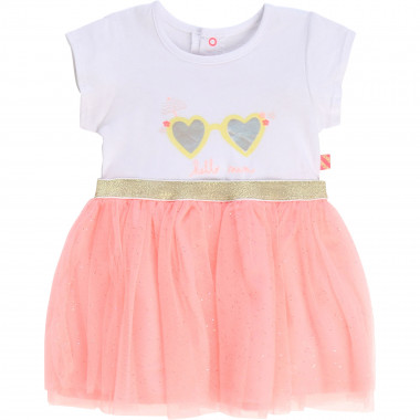 Sequined dual-material dress BILLIEBLUSH for GIRL
