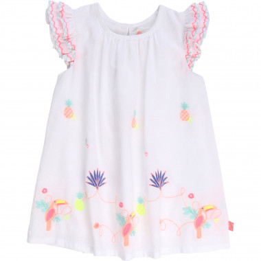 Cotton poplin dress BILLIEBLUSH for GIRL