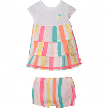 Striped dress and bloomers set BILLIEBLUSH for GIRL
