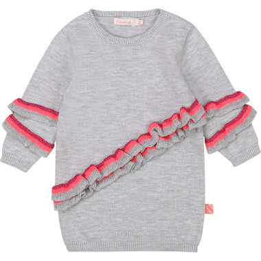 Tricot dress with frills BILLIEBLUSH for GIRL