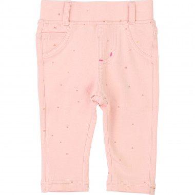 Skinny cotton fleece jeggings BILLIEBLUSH for GIRL