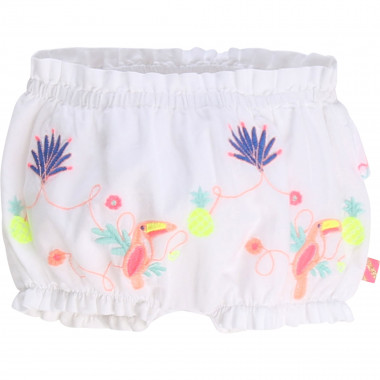 Cotton poplin shorts BILLIEBLUSH for GIRL