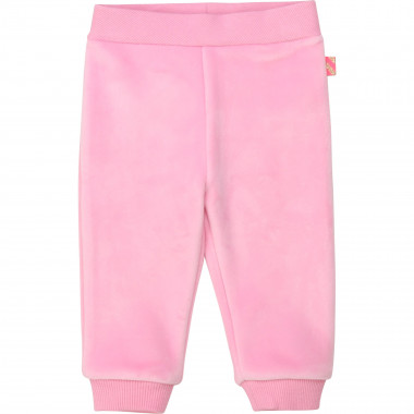 Velvet fleece trousers BILLIEBLUSH for GIRL