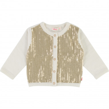 Sequin knit cardigan BILLIEBLUSH for GIRL