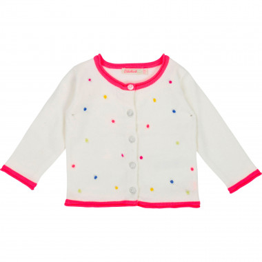 Cotton knit cardigan BILLIEBLUSH for GIRL