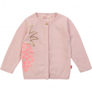 Tricot pineapple cardigan BILLIEBLUSH for GIRL