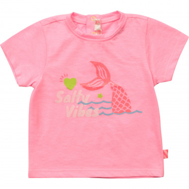 Jersey T-shirt with print BILLIEBLUSH for GIRL