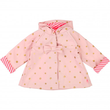 Polka dot raincoat BILLIEBLUSH for GIRL