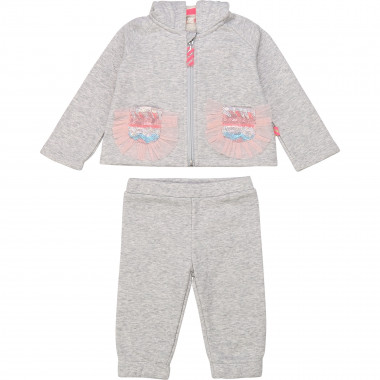 Jogging set with frills BILLIEBLUSH for GIRL