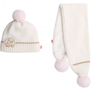 Matching hat and scarf set BILLIEBLUSH for GIRL