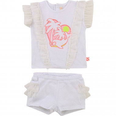 T-shirt and shorts set BILLIEBLUSH for GIRL