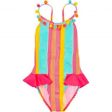 1-piece striped swimsuit BILLIEBLUSH for GIRL