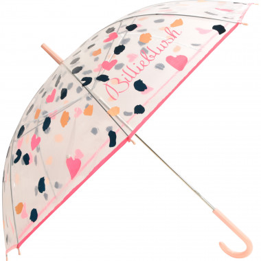Patterned see-through umbrella BILLIEBLUSH for GIRL