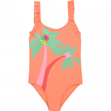 Frilled one-piece bathing suit BILLIEBLUSH for GIRL