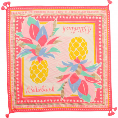 Square printed scarf BILLIEBLUSH for GIRL