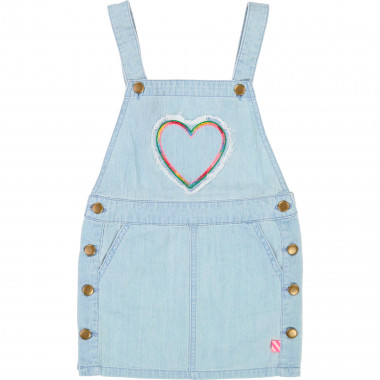 Denim dungaree dress BILLIEBLUSH for GIRL