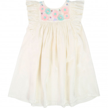 Iridescent satin dress BILLIEBLUSH for GIRL
