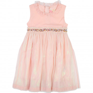 Tulle dress with sequined belt BILLIEBLUSH for GIRL