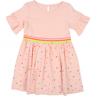 Multicoloured cotton dress BILLIEBLUSH for GIRL