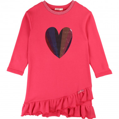 Cotton fleece dress BILLIEBLUSH for GIRL