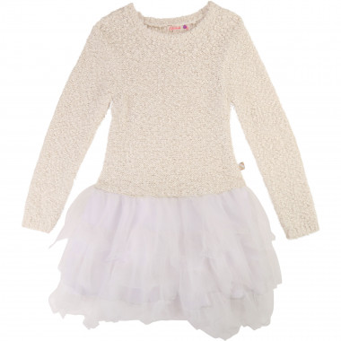 Tulle and knit dress BILLIEBLUSH for GIRL