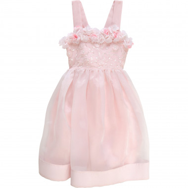 Formal dress in organza BILLIEBLUSH for GIRL