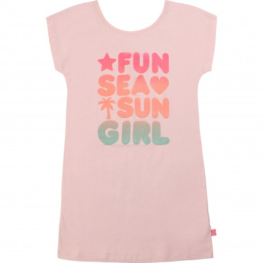 T-shirt dress in cotton jersey BILLIEBLUSH for GIRL