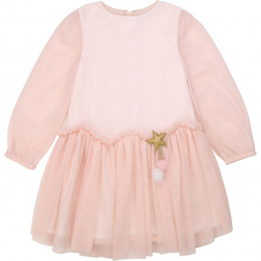 Shiny tulle formal dress BILLIEBLUSH for GIRL