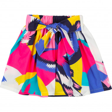Printed skirt with belt BILLIEBLUSH for GIRL