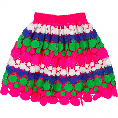Multicoloured lace skirt BILLIEBLUSH for GIRL