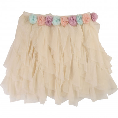 Tulle skirt with flowers BILLIEBLUSH for GIRL