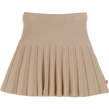 Pleated sequinned tricot skirt BILLIEBLUSH for GIRL
