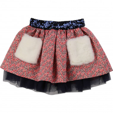 Jacquard skirt with pockets BILLIEBLUSH for GIRL